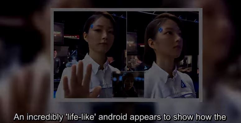 humanoide robot google