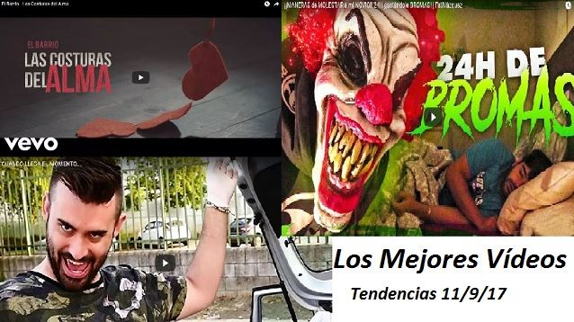 top tendencias hoy 11 sep 2017