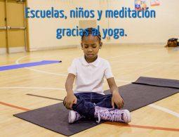 yoga y meditacion para niños