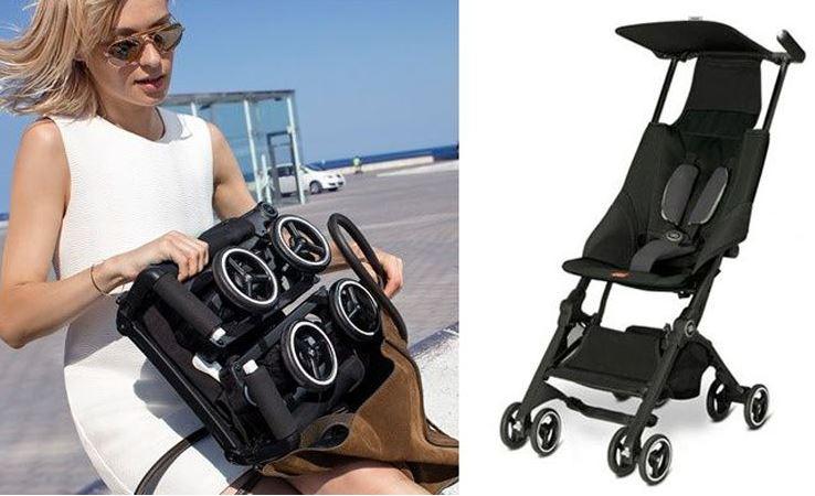 Inventos para bebés. Cochecito super-compacto