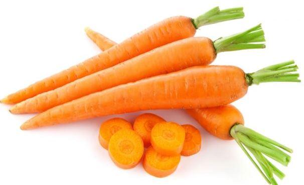 Zanahorias PARA TENER UNA PIEL SANA.
