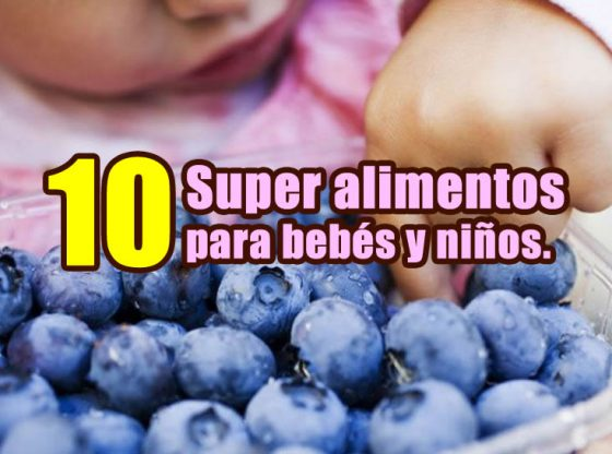 alimentos para bebés y niños portada