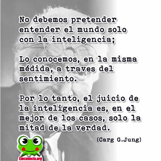 Cita de Carl Gustav Jung.