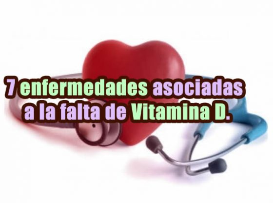 7 enfermedades causadas por falta de vitamina d