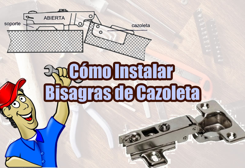 Tipos de bisagras instalar bisagras de cazoleta - Tipos de bisagras ...