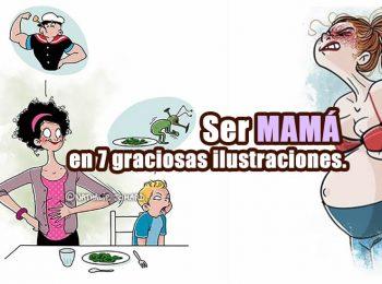 ser mama en 7 ilustraciones portada
