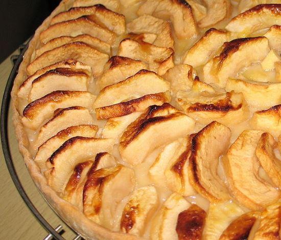 tarta de manzana casera 1