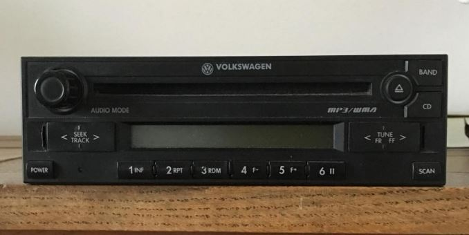 Desbloquear radio Volkswagen