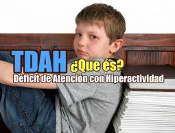 TDAH Síndrome de Déficit de Atención con Hiperactividad portada