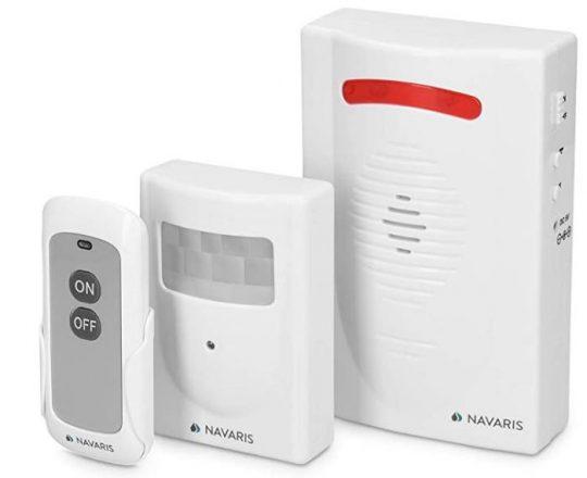 Sistema fácil de alarma con sensor de movimiento