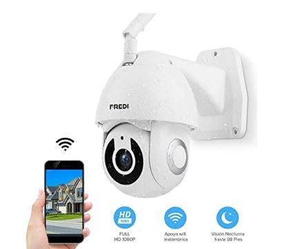 cámara ip wifi para exteriores e interiores