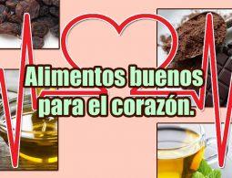 Alimentos buenos para el corazón portada