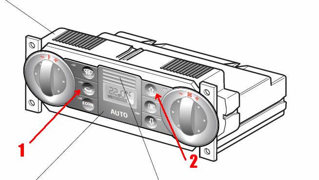 acceso a codigos climatizador