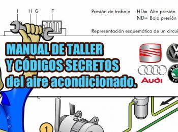 manual de taller y codigos del aire acondicionado Audi-Seat-Wolkswagen-Skoda
