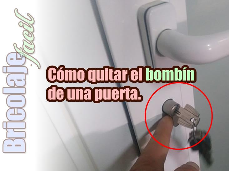 C mo cambiar el bomb n de una cerradura for Bombin de puerta