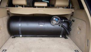 deposito de autogas - glp en maletero