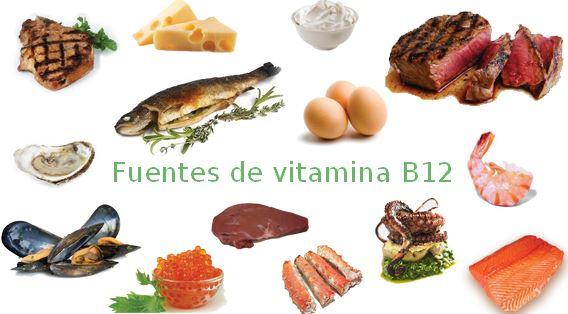 fuentes de vitamina b12