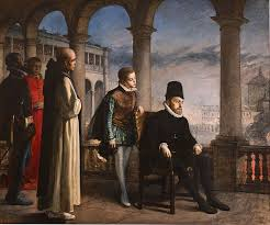 Felipe II en el Escorial