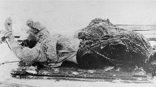 Cadáver de Rasputín
