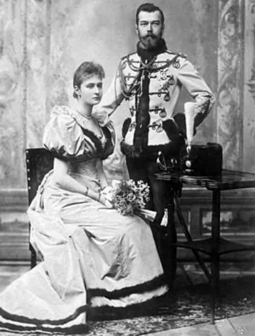 Nicolás II y Alejandra Fiodorovna
