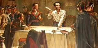 Simón Bolivar y la primera Constitución