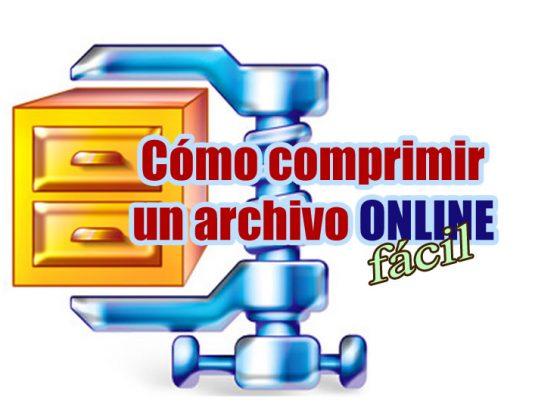 comprimir un archivo online portada