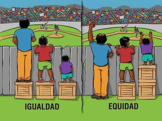 diferencia entre igualdad y equidad 2
