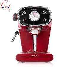 Máquina de café y vapor