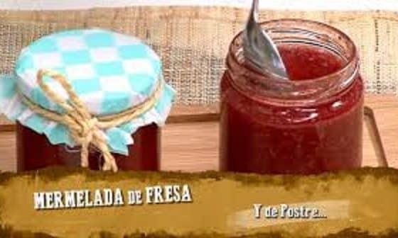 Como hacer mermelada de fresa