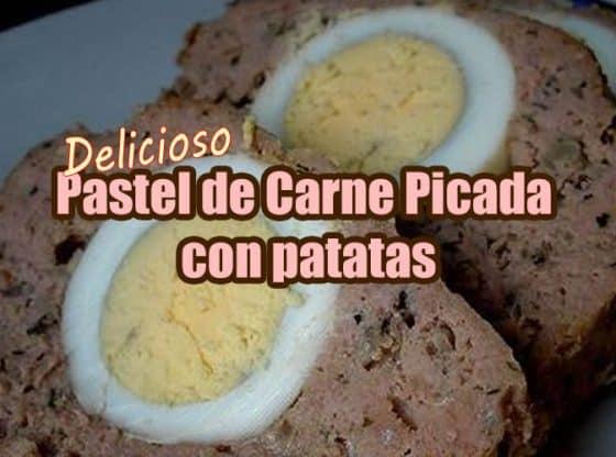 pastel de carne picada con patatas portada