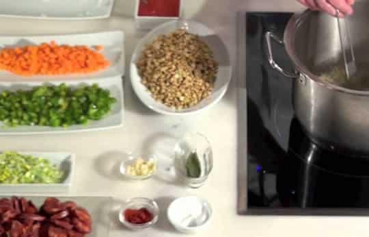 como hacer lentejas estofadas con chorizo
