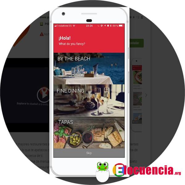 app para foodie