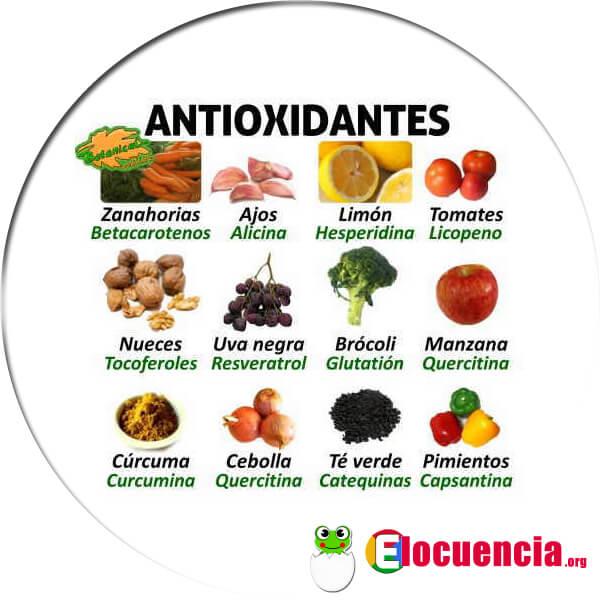 Alimentos antioxidantes para luchar contra el envejecimiento