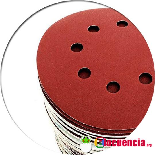 discos de diferentes granos para pulir acero