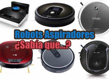 Aspiradoras automáticas y robots aspiradores comparativa