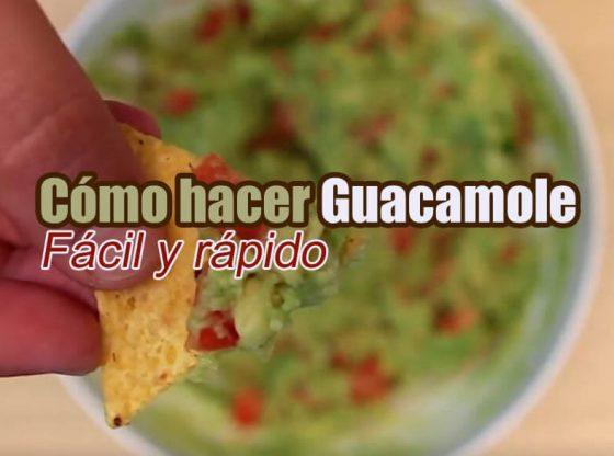como hacer guacamole casero autentico