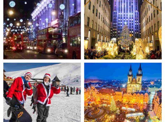 ideas de destinos para ir esta navidad