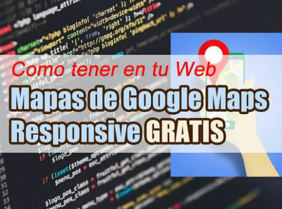 google maps responsive gratis