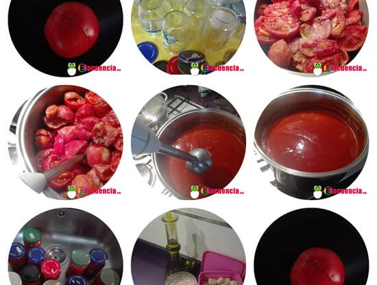 como hacer conserva de tomate casero al baño maria