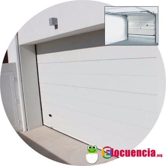 elegir una puerta de garaje seccional