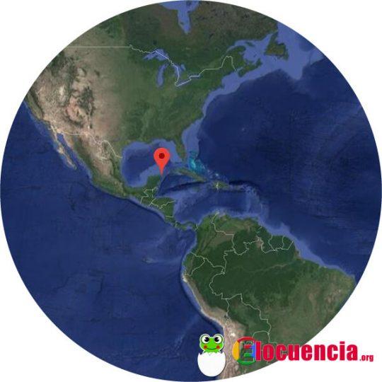 mapa aereo isla mujeres