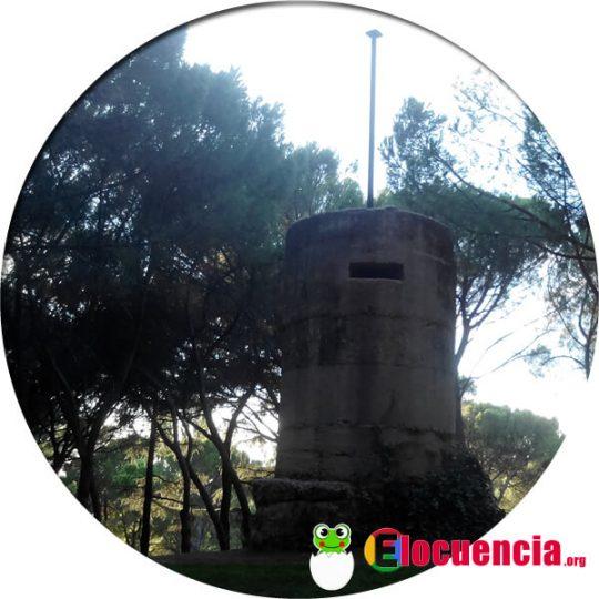 ers de la guerra civil española en el parque del oeste