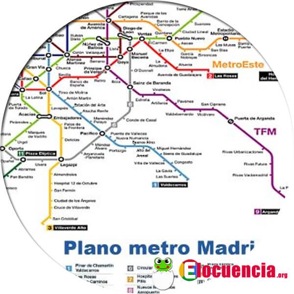 planos metro madrid