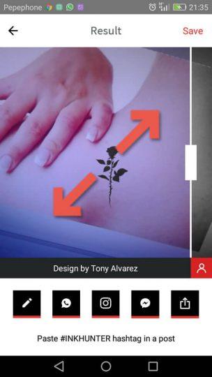 Tatuaje en realidad aumentada