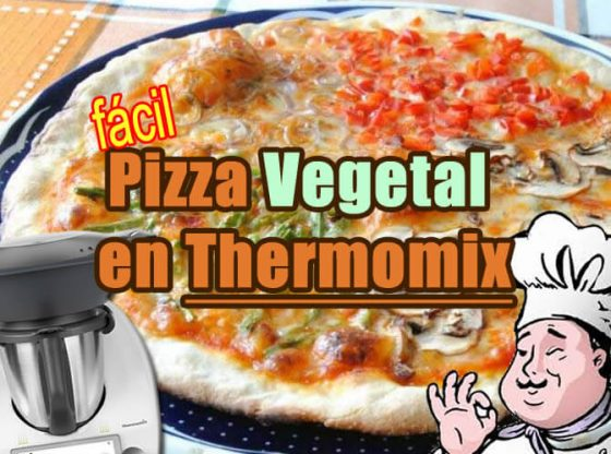 pizza vegetal thermomix