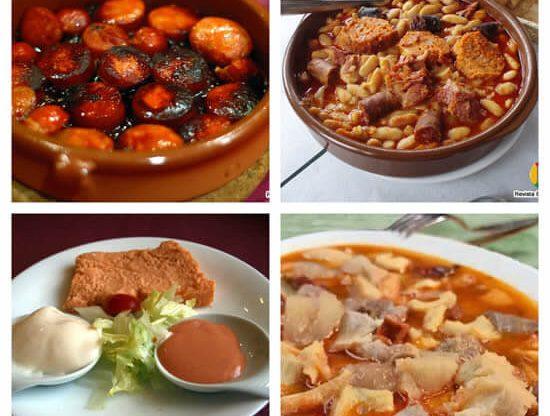 platos típicos de la cocina asturiana