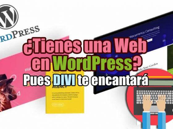 Divi para Wordpress Qué es cómo funciona