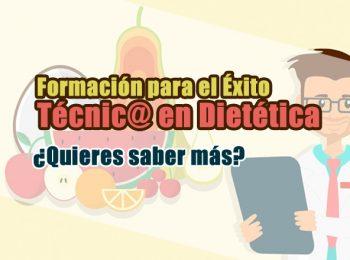 Información sobre el ciclo de grado superior en dietética