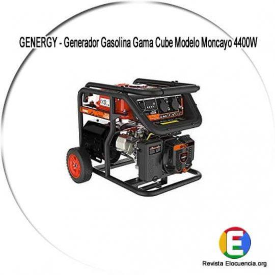 Generador Gasolina Gama Cube Modelo Moncayo 4400W