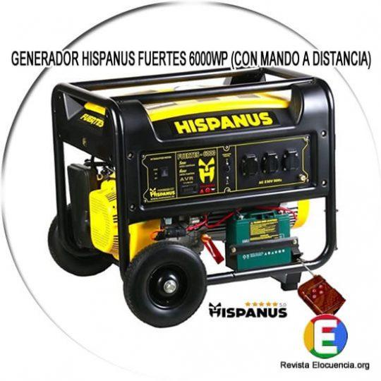 HISPANUS FUERTES 6000WP (CON MANDO A DISTANCIA)